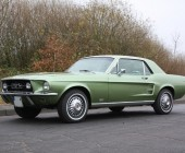 Lackierung eines Ford Mustang